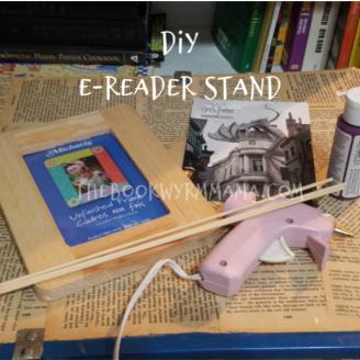 diy e reader stand